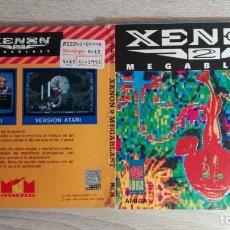 Videojuegos y Consolas: XENON 2 MEGABLAST-COMMODORE AMIGA-THE BITMAP BROTHERS-MIRRORSOFT-AÑO 1989-CARPETA. Lote 152602542
