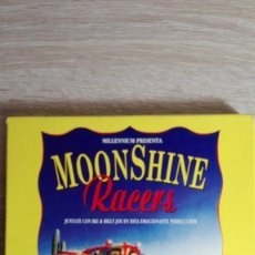 Videojuegos y Consolas: MOONSHINE RACERS-COMMODORE AMIGA-AÑO 1991-MILLENNIUM-MANUAL CASTELLANO A ESTRENAR NUEVO.. Lote 154391738