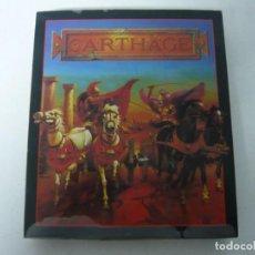 Videojuegos y Consolas: CARTHAGE - COMMODORE AMIGA - JUEGO RETRO VINTAGE - BIG BOX - DISKETTE. Lote 154460794