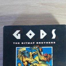 Videojuegos y Consolas: GODS-COMMODORE AMIGA-THE BITMAP BROTHERS-AÑO 1991-CAJA BOX COMPLETO.. Lote 154510402
