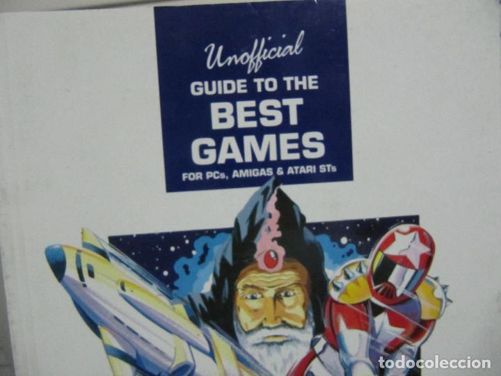 Videojuegos y Consolas: 1990 Unofficial Guide to the Best Games for , Amiga and Atari S. T.s Hiperare-Joya - Foto 2 - 156391126