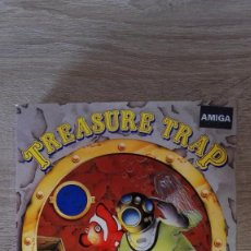 Videojogos e Consolas: TREASURE TRAP-COMMODORE AMIGA-ELECTRONIC ZOO-AÑO 1989-V.ESPAÑA-FUNCIONANDO. Lote 160155978