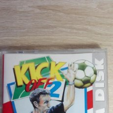 Videojuegos y Consolas: THE FINAL WHISTLE-DATA DISK KICK OFF 2-COMMODORE AMIGA-ANCO-AÑO 1990-SIN USAR. Lote 161387534