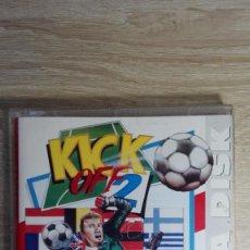 Videojuegos y Consolas: GIANTS OF EUROPE-DATA DISK KICK OFF 2-COMMODORE AMIGA-ANCO-AÑO 1992-SIN USAR. Lote 161387982