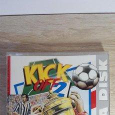 Videojuegos y Consolas: RETURN TO EUROPE-DATA DISK KICK OFF 2-COMMODORE AMIGA-ANCO-AÑO 1991. Lote 161388830