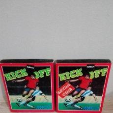 Videojogos e Consolas: KICK OFF Y KICK OFF EXTRA TIME-COMMODORE AMIGA-ANCO-AÑO 1989-VER.ESP-FUNCIONANDO. Lote 161717106