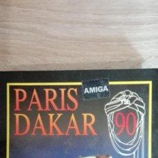 Jeux Vidéo et Consoles: PARÍS-DAKAR 90-COMMODORE AMIGA-COKTEL VISION-SYSTEM 4-AÑO 1990-BOX V.ESPAÑA. Lote 162110994