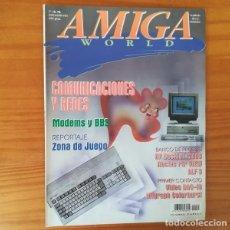 Jeux Vidéo et Consoles: REVISTA AMIGA WORLD 45, JULIO-AGOSTO 1993. REDES MODEMS, MICROGRAPH COLORBRUSH.... Lote 163447734