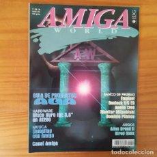 Jeux Vidéo et Consoles: REVISTA AMIGA WORLD 52, MARZO 1994. ALIEN BREED II, HIRED GUNS, AGA, A1200, EMPLANT.... Lote 163447886