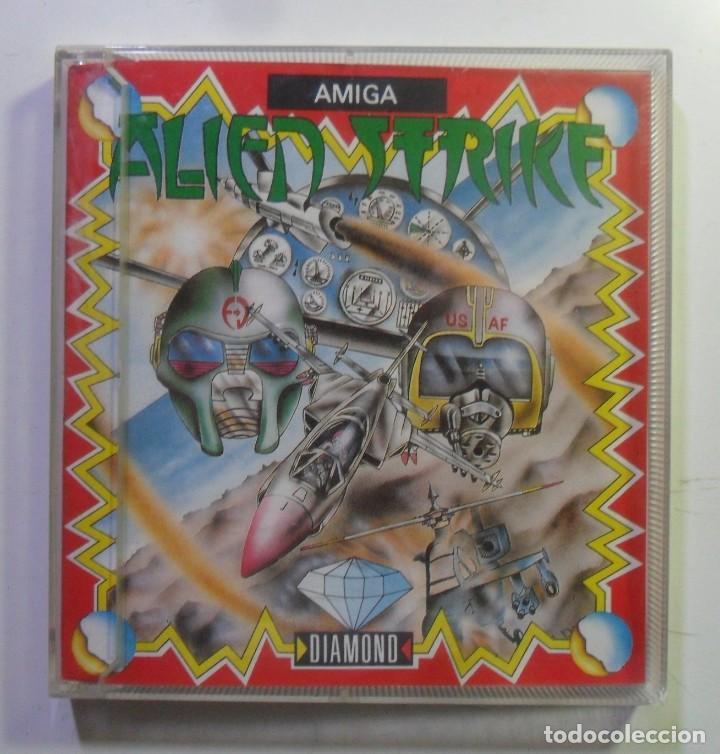 ALIEN STRIKE - AMIGA - DISQUETE 3 1/2 - DIAMOND GAMES 1987 (Juguetes - Videojuegos y Consolas - Amiga)