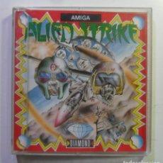 Videojuegos y Consolas: ALIEN STRIKE - AMIGA - DISQUETE 3 1/2 - DIAMOND GAMES 1987. Lote 167977808