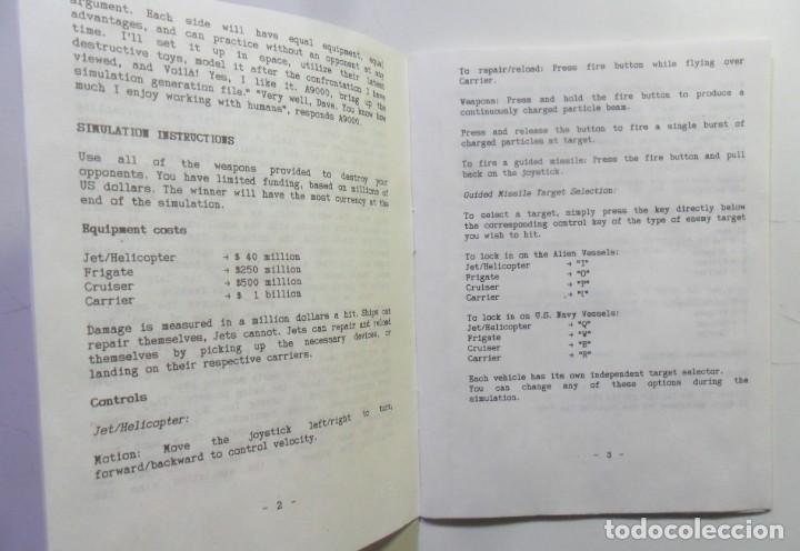 Videojuegos y Consolas: ALIEN STRIKE - AMIGA - DISQUETE 3 1/2 - DIAMOND GAMES 1987 - Foto 3 - 167977808