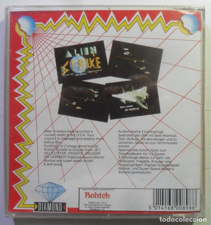 Videojuegos y Consolas: ALIEN STRIKE - AMIGA - DISQUETE 3 1/2 - DIAMOND GAMES 1987 - Foto 4 - 167977808
