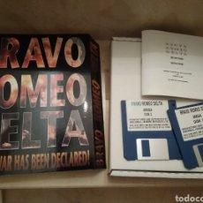 Videojuegos y Consolas: JUEGO AMIGA CAJA GRANDE BRAVO ROMEO DELTA. Lote 176191330