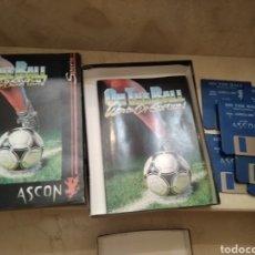 Videojuegos y Consolas: JUEGO AMIGA CAJA GRANDE ON THE BALL. Lote 176191657