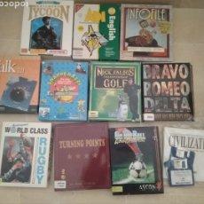 Videojuegos y Consolas: PACK LOTE DE 7 JUEGOS PARA AMIGA. Lote 179037337