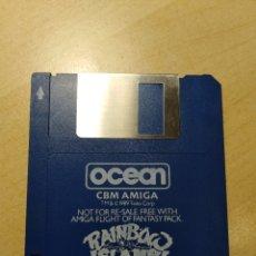 Videojuegos y Consolas: AMIGA 500. JUEGO. RAINBOA ISLANDS. OCEAN SOFTWARE. 1990. Lote 180923613
