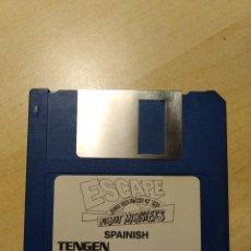 Videojuegos y Consolas: AMIGA 500. JUEGO. ESCAPE FROM THE PLANET OF THE ROBOT MONSTERS. TENGEN. Lote 180923950