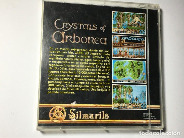 Videojuegos y Consolas: JUEGO COMMODORE AMIGA CRYSTALS OF ARBOREA - Foto 2 - 189934385