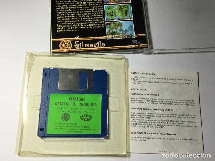 Videojuegos y Consolas: JUEGO COMMODORE AMIGA CRYSTALS OF ARBOREA - Foto 6 - 189934385