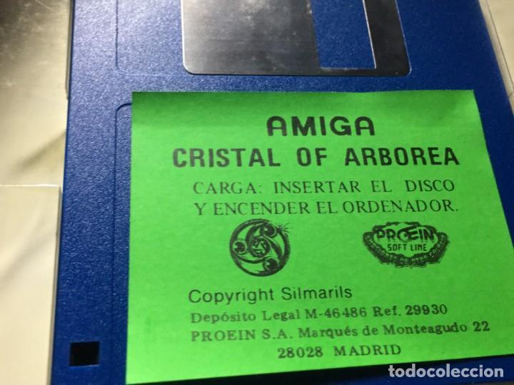 Videojuegos y Consolas: JUEGO COMMODORE AMIGA CRYSTALS OF ARBOREA - Foto 7 - 189934385