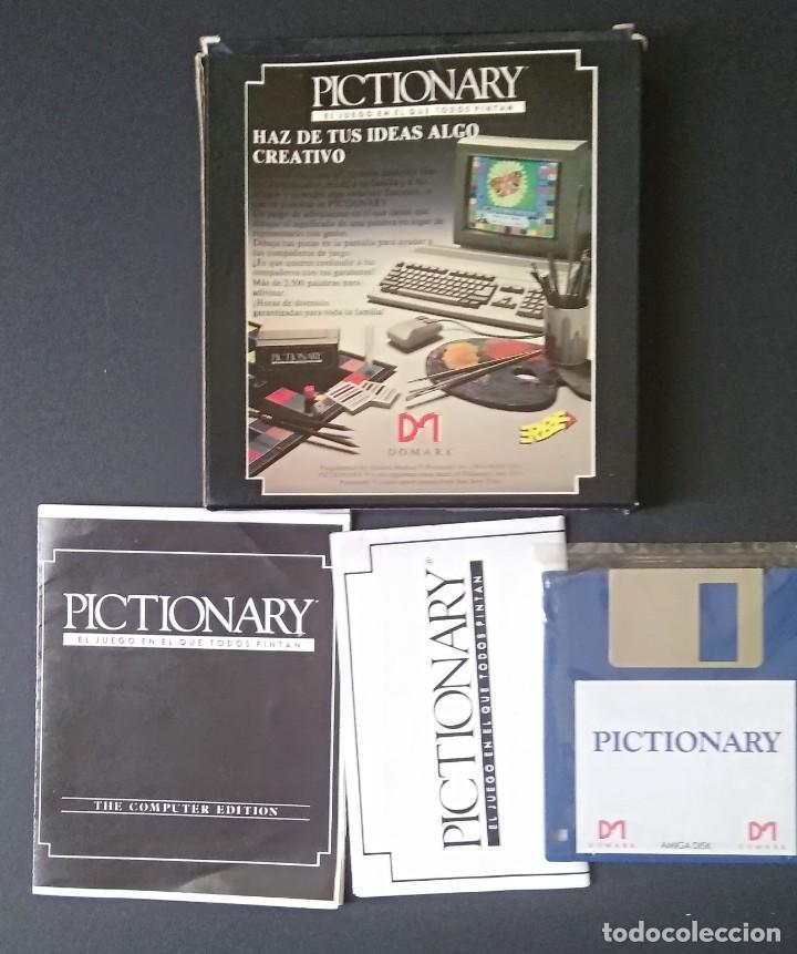 PICTIONARY ORDENADOR AMIGA (Juguetes - Videojuegos y Consolas - Amiga)