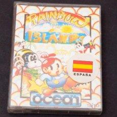 Videojogos e Consolas: RAINBOW ISLANDS - OCEAN - 1989 - PERFECTO ESTADO. Lote 196605353