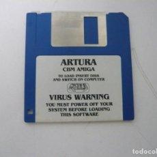 Videojuegos y Consolas: ARTURA / COMMODORE AMIGA / RETRO VINTAGE / DISCO - DISKETTE - DISQUETE. Lote 197466886
