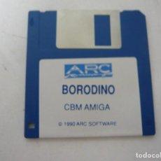 Videojuegos y Consolas: BORODINO / COMMODORE AMIGA / RETRO VINTAGE / DISCO - DISKETTE - DISQUETE. Lote 197467166