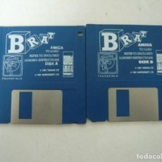 Videojuegos y Consolas: BRAT / COMMODORE AMIGA / RETRO VINTAGE / DISCO - DISKETTE - DISQUETE. Lote 197467202