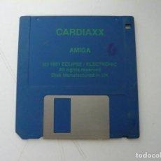 Videojuegos y Consolas: CARDIAXX / COMMODORE AMIGA / RETRO VINTAGE / DISCO - DISKETTE - DISQUETE. Lote 197467236