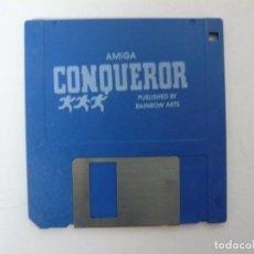 Videojuegos y Consolas: CONQUEROR / COMMODORE AMIGA / RETRO VINTAGE / DISCO - DISKETTE - DISQUETE. Lote 197467270
