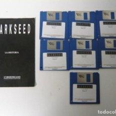 Videojuegos y Consolas: DARKSEED Y MANUAL ESPAÑOL / COMMODORE AMIGA / RETRO VINTAGE / DISCO - DISKETTE - DISQUETE. Lote 197467356
