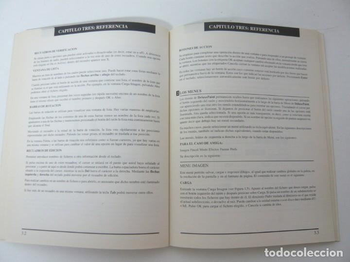 Videojuegos y Consolas: Deluxe Paint 2 y manual español / Commodore Amiga / Retro Vintage / disco - diskette - disquete - Foto 3 - 197467463