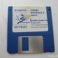 Videojuegos y Consolas: COUNT DUCKULA / COMMODORE AMIGA / RETRO VINTAGE / DISCO - DISKETTE - DISQUETE. Lote 197467660