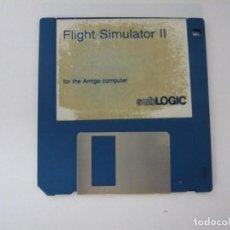 Videojuegos y Consolas: FLIGHT SIMULATOR 2 / COMMODORE AMIGA / RETRO VINTAGE / DISCO - DISKETTE - DISQUETE. Lote 197467763