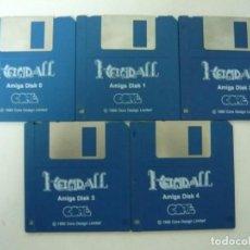 Videojuegos y Consolas: HEIMDALL 2 / COMMODORE AMIGA / RETRO VINTAGE / DISCO - DISKETTE - DISQUETE. Lote 197467807