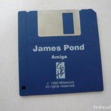 Videojuegos y Consolas: JAMES POND / COMMODORE AMIGA / RETRO VINTAGE / DISCO - DISKETTE - DISQUETE. Lote 197467868