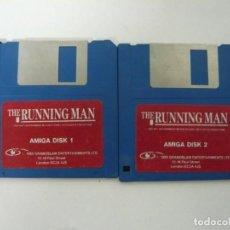 Videojuegos y Consolas: THE RUNNING MAN - PERSEGUIDO / COMMODORE AMIGA / RETRO VINTAGE / DISCO - DISKETTE - DISQUETE. Lote 197468228