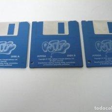 Videojuegos y Consolas: PUTTY / COMMODORE AMIGA / RETRO VINTAGE / DISCO - DISKETTE - DISQUETE. Lote 197468282