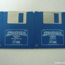Videojuegos y Consolas: SHADOWORLDS / COMMODORE AMIGA / RETRO VINTAGE / DISCO - DISKETTE - DISQUETE. Lote 197468335