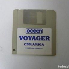 Videojuegos y Consolas: VOYAGER / COMMODORE AMIGA / RETRO VINTAGE / DISCO - DISKETTE - DISQUETE. Lote 197468678