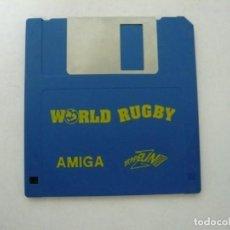 Videojuegos y Consolas: WORLD RUGBY / COMMODORE AMIGA / RETRO VINTAGE / DISCO - DISKETTE - DISQUETE. Lote 197468772