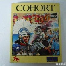 Videojuegos y Consolas: COHORT / CAJA DE CARTÓN / COMMODORE AMIGA / RETRO VINTAGE / DISCO - DISKETTE - DISQUETE. Lote 197468953