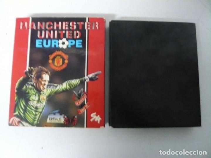 Videojuegos y Consolas: Manchester United EU / Caja cartón / Commodore Amiga / Retro Vintage / disco - diskette - disquete - Foto 3 - 197469177