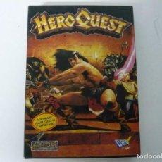 Videojuegos y Consolas: HERO QUEST / CAJA CARTÓN / COMMODORE AMIGA / RETRO VINTAGE / DISCO - DISKETTE - DISQUETE. Lote 197469413