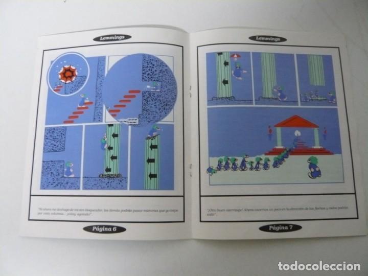 Videojuegos y Consolas: Lemmings / Caja cartón / Commodore Amiga / Retro Vintage / disco - diskette - disquete - Foto 6 - 197469602