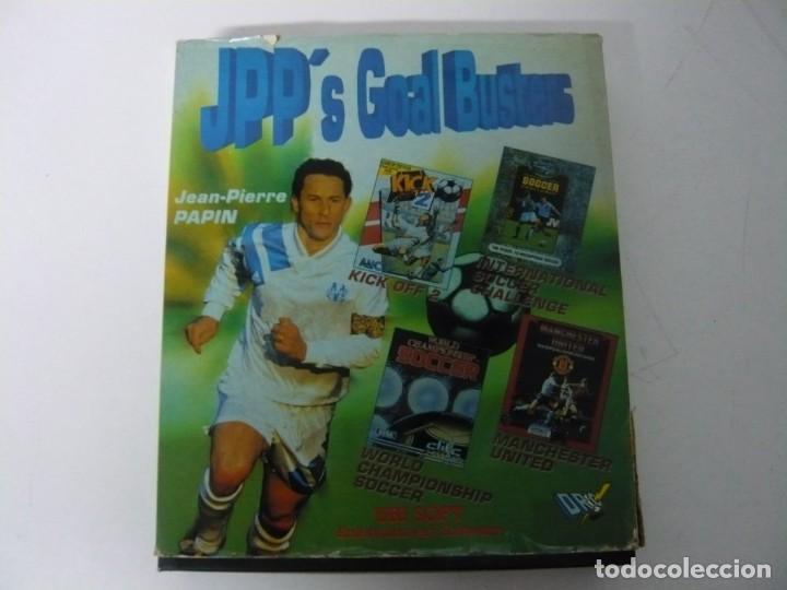 JEAN-PIERRE PAPIN PACK / CAJA CARTÓN / COMMODORE AMIGA / RETRO VINTAGE / DISCO - DISKETTE - DISQUETE (Juguetes - Videojuegos y Consolas - Amiga)