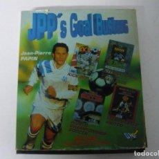 Videojuegos y Consolas: JEAN-PIERRE PAPIN PACK / CAJA CARTÓN / COMMODORE AMIGA / RETRO VINTAGE / DISCO - DISKETTE - DISQUETE. Lote 197469911