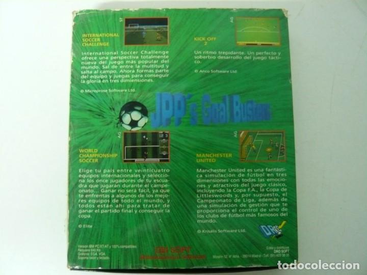 Videojuegos y Consolas: Jean-Pierre Papin PACK / Caja cartón / Commodore Amiga / Retro Vintage / disco - diskette - disquete - Foto 2 - 197469911